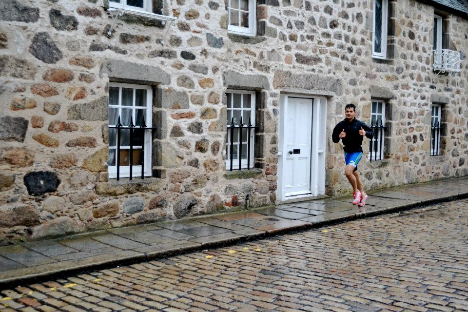 Aberdeen Aquathlon run